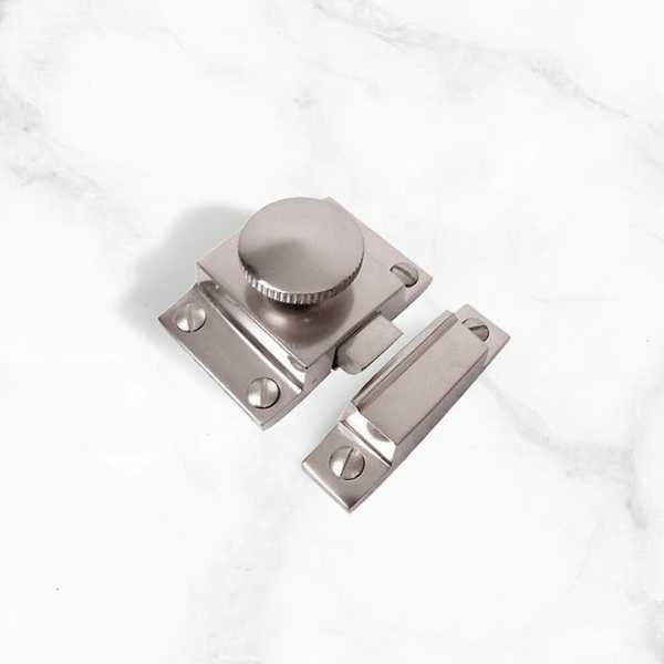 Satin Nickel Cupboard Box Catch - 57mm (BSCC5)