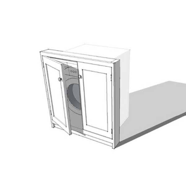 Door Fascia for Freestanding Appliance