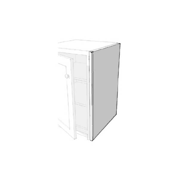 25mm Plain Base Cupboard Side Panel