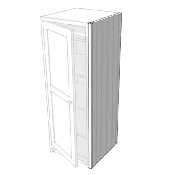 25mm Tongue & Grooved Midi Cupboard Side Panel