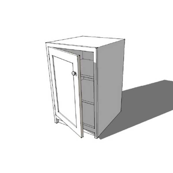 Full Door Base Cabinet